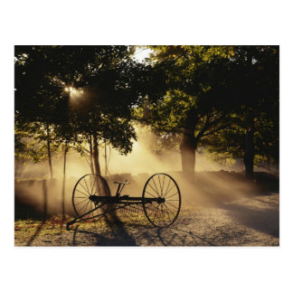 Vermont, Northeast Kingdom, Sunlight falling Postcard