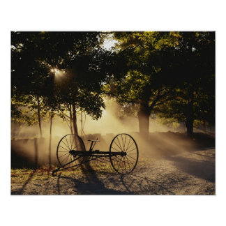 Vermont, Northeast Kingdom, Sunlight falling Poster