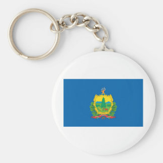 Vermont  Official State Flag Key Ring