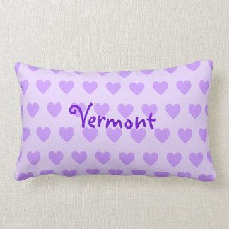 Vermont on Purple Heart Pattern Lumbar Cushion