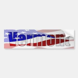 Vermont Pride Bumper Sticker