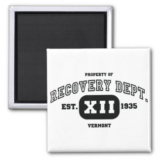 VERMONT Recovery Square Magnet