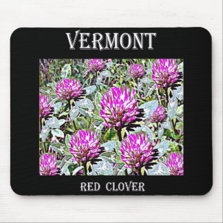 Vermont Red Clover Mouse Pad