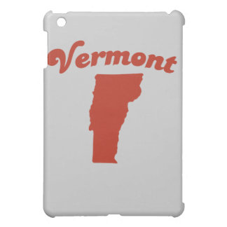 VERMONT Red State Cover For The iPad Mini