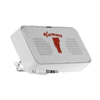 VERMONT Red State iPhone Speaker