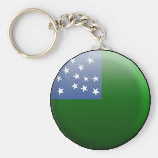 Vermont Republic Flag Key Ring