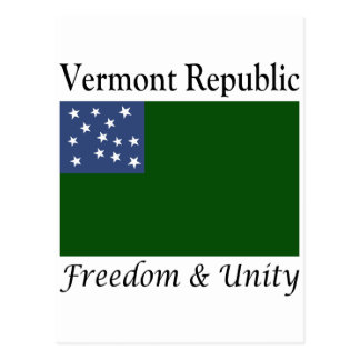 Vermont Republic Postcard