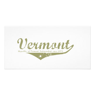 Vermont Revolution T-shirts Photo Greeting Card