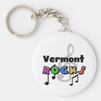 Vermont Rocks Key Ring