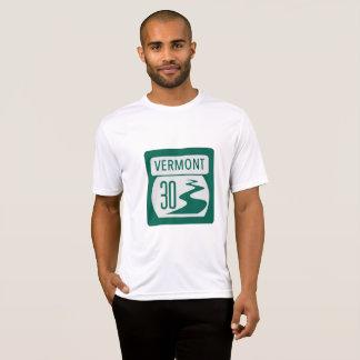 Vermont Rt. 30 Roadsign T-Shirt