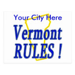 Vermont Rules ! Post Cards