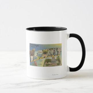 Vermont (State Capital/Flower) - Mug