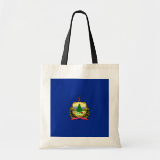 Vermont State Flag Design Budget Tote Bag