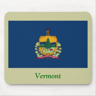 Vermont State Flag Mouse Pad