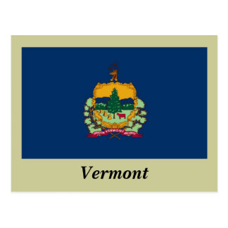 Vermont State Flag Postcard