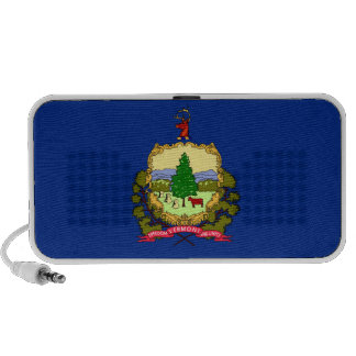 Vermont State Flag Travelling Speakers
