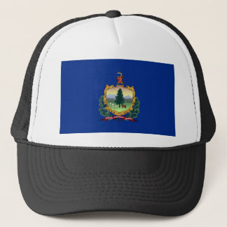 vermont state flag united america republic symbol trucker hat