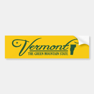 Vermont (State of Mine) Bumper Sticker