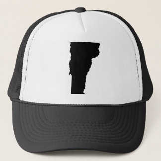 Vermont State Outline Trucker Hat