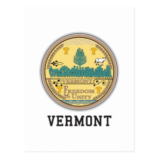 Vermont State Postcard