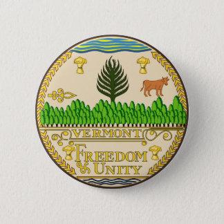Vermont state seal america republic symbol flag us 6 cm round badge