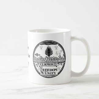 Vermont State Seal and Motto Coffee Mug