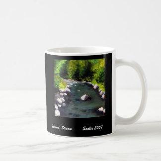 Vermont  Stream Coffee Mugs