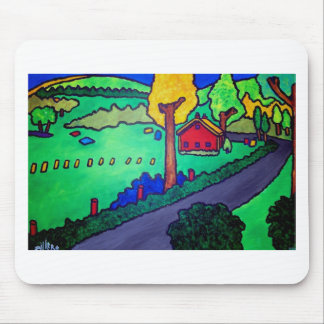 Vermont Summer 3 by Piliero Mouse Pad