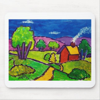 Vermont Summer by Piliero Mouse Pad