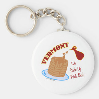 Vermont Syrup Key Ring
