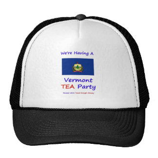 Vermont TEA Party - We re Taxed Enough Already Mesh Hats