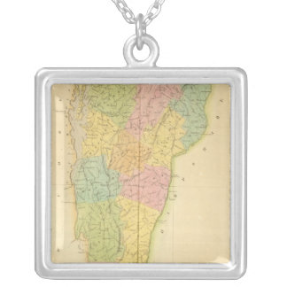 Vermont US Silver Plated Necklace