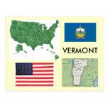 Vermont, USA Postcards