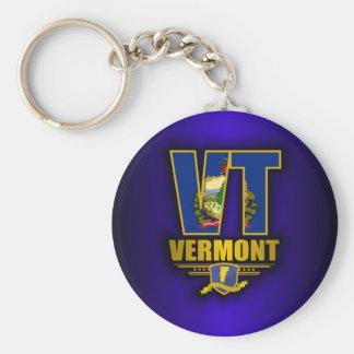 Vermont (VT) Key Ring