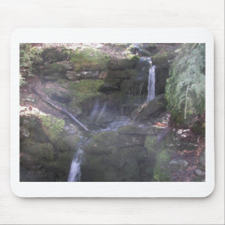 Vermont water falls mouse pad