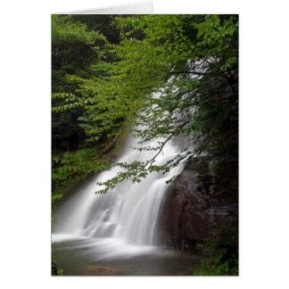 Vermont Waterfalls Card