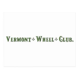 Vermont Wheel Club Ball Logo Postcard