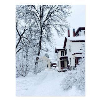 Vermont White Winter Postcard