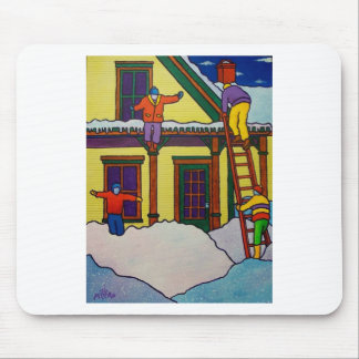 Vermont Winter Sport by Piliero Mouse Pad