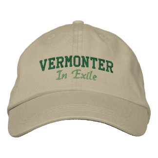 Vermonter In Exile Embroidered Hat