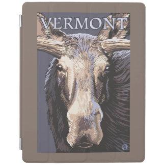 VermontMoose Up Close iPad Cover