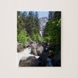 Vernal Falls from Footbridge Jigsaw Puzzle