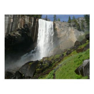 Vernal Falls I from Yosemite National Park Postcard