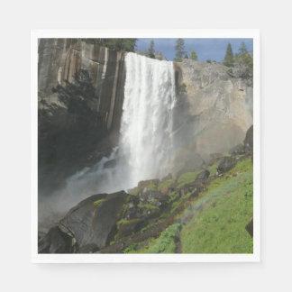Vernal Falls I in Yosemite National Park Disposable Serviette