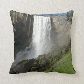 Vernal Falls I in Yosemite National Park Throw Pillow