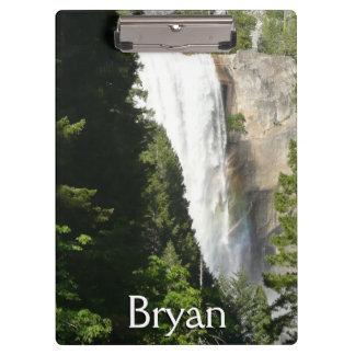 Vernal Falls II in Yosemite National Park Clipboard