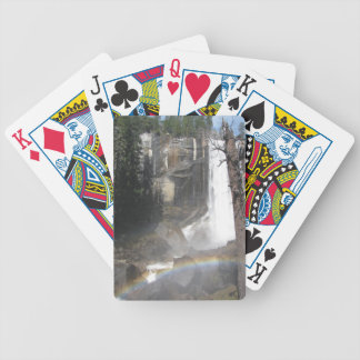 Vernal Falls Rainbow -Yosemite Bicycle Playing Cards