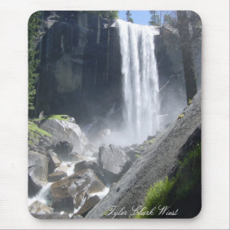 Vernal Falls, Yosemite California Mouse Mat