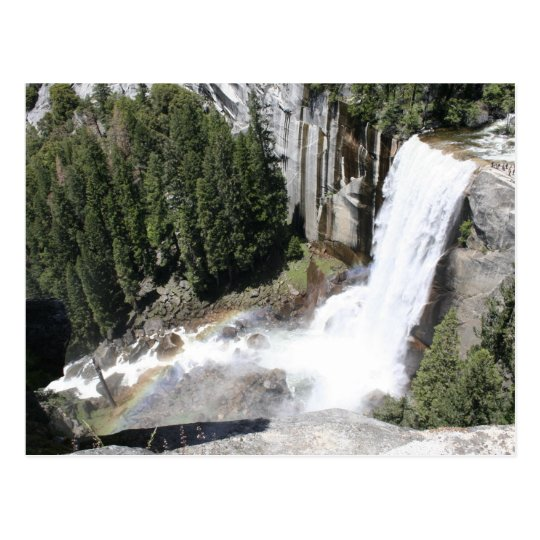 Vernal Falls, Yosemite National Park Postcard