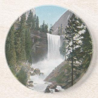 Vernal Falls, Yosemite Vintage Coaster